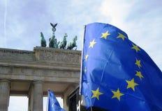 Mars för Europa Berlin Arkivbilder