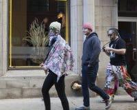 Mars för kvinna` s på Chicago 2017 royaltyfria foton