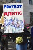 Mars för våra liv i Hartford Connecticut Royaltyfria Bilder