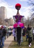 Mars för våra liv i Hartford Connecticut Royaltyfri Fotografi