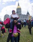 Mars för våra liv i Hartford Connecticut Royaltyfri Bild