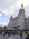 Mars för våra liv i Hartford Connecticut Arkivfoto