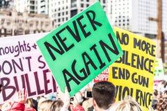 Mars för våra liv Seattle Royaltyfria Foton
