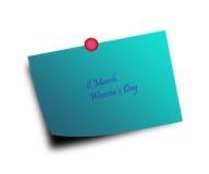 8 mars fond de souhaits Image stock
