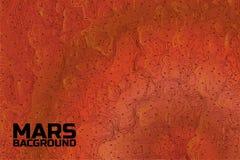 Mars-Hintergrund Lizenzfreies Stockfoto