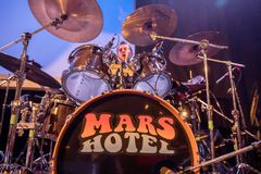 MARS HOTEL performs live - Toronto, Canada - June 2, 2019. Grateful Dead cover band MARS HOTEL performs live at The Opera House stock photo