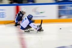 15 mars 2018 Jeux 2018 de Peyongchang Paralympic dans Kore du sud photo libre de droits