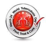 24 mars - jour de tuberculose du monde Images stock