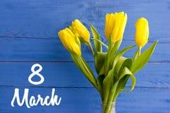 8 mars Jour heureux du `s de mère Photographie stock