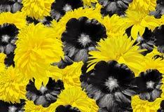8 mars Jour international du ` s de femme Rose, pétales et cadeau de rose Configuration plate Image libre de droits