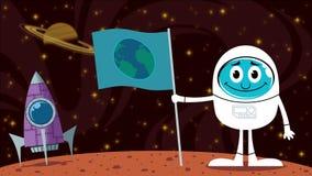 Mars Landing stock video