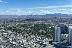 3 mars 2019 - Las Vegas, Nevada - le dessus du restaurant du monde - Le DÉBUT image stock