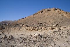 Mars Like Desert. Egypt Stock Image