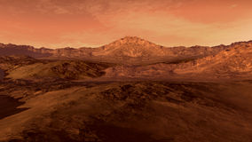 Mars like red planet Stock Photos