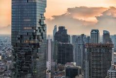 19 mars 2017, MahaNakhon torn i Bangkok Royaltyfria Bilder