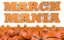Mars Mania College Basketball Tournament Photo libre de droits