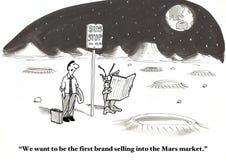 Mars Market Royalty Free Stock Photos