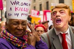Mars mot rasism - London, UK Fotografering för Bildbyråer