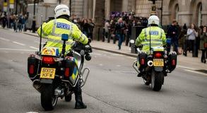 Mars mot rasism - London, UK Royaltyfria Foton