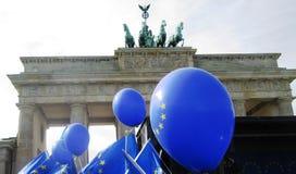Mars pour l'Europe Berlin Images libres de droits