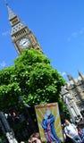 Mars pour l'Europe, Londres, images libres de droits