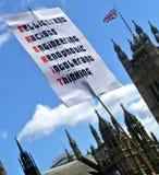 Mars pour l'Europe, Londres, photos libres de droits