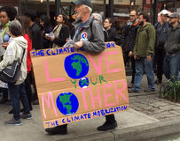 Mars pour la Science Photographie stock libre de droits