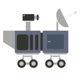 Mars rover curiosity icon Royalty Free Stock Photography