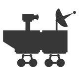 Mars rover curiosity icon. Flat design mars rover curiosity icon  illustration Stock Photos