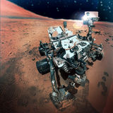 The Mars rover Stock Image