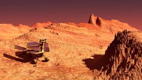 Free Mars Rover On Mars Stock Photography - 31215612