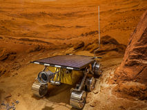 The Mars Rover. This is a rebuild of the mars rover Royalty Free Stock Photo