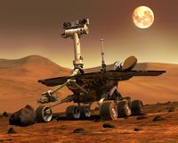 Free Mars Rovers Landed.Elements Of This Image Furnished By NASA Royalty Free Stock Images - 162196379
