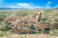 Mars Saba kloster Royaltyfri Bild