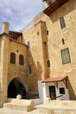 Mars Saba klostervandrarhem, Israel. arkivfoto