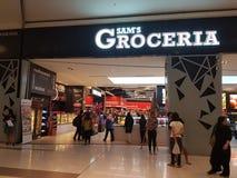 4 mars 2017 Sam& x27 ; s Groceria au NU Sentral Kuala Lumpur Images libres de droits