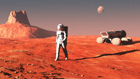 On mars Stock Photos
