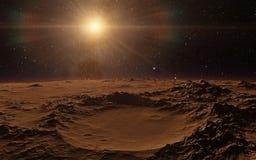 Mars Scientific illustration Stock Photo