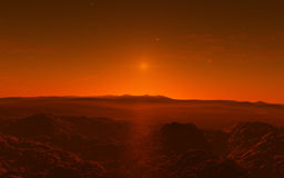 Mars Scientific illustration Stock Photos