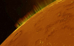 Mars  Scientific illustration -  planetary Stock Images