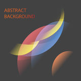 Mars and space curve abstract background. Vector Illustration EPS10 Stock Illustration