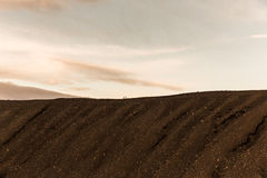 Mars surface landscape Royalty Free Stock Photography