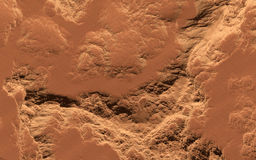 Mars surface Royalty Free Stock Photography