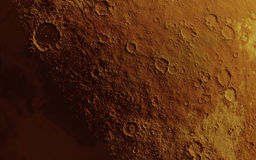 Mars surface Stock Image