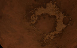 Mars surface Stock Photography