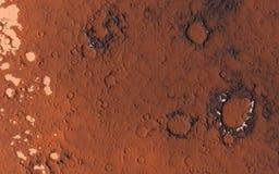 Mars surface Royalty Free Stock Image