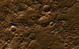 Mars surface Royalty Free Stock Photo