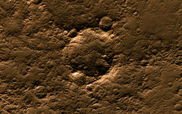 Mars surface Royalty Free Stock Images