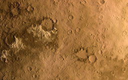 Mars surface Royalty Free Stock Photo