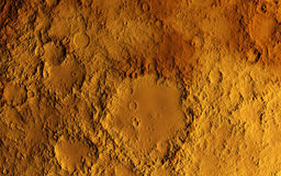 Mars surface Stock Images
